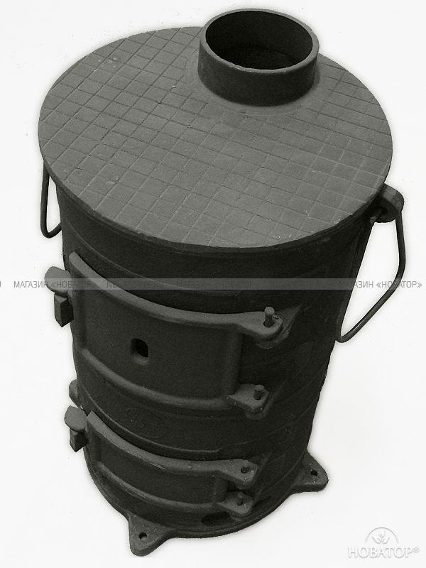 Балезинская чугунная печь ПОВ-57
