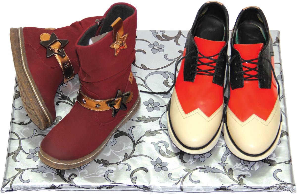 Электрический коврик для сушки обуви 50х35 см