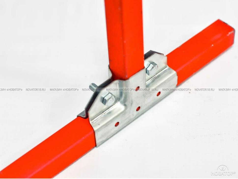 Крепеж «Краб-система» для профильной трубы, T-образная