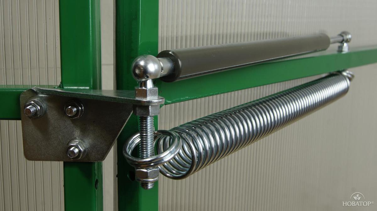 Термопривод для двери теплицы
