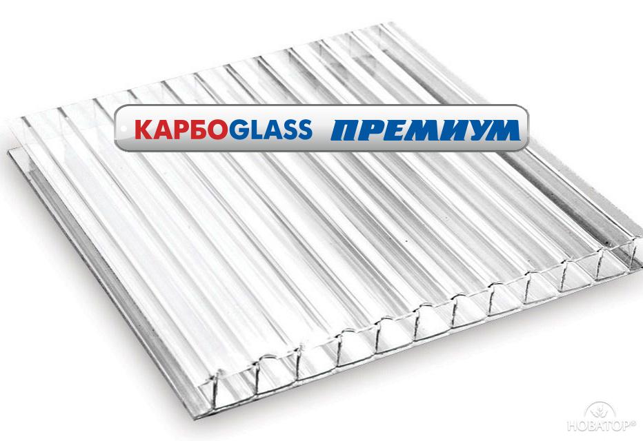 Поликарбонат прозрачный «Карбогласс Премиум» 4-16 мм